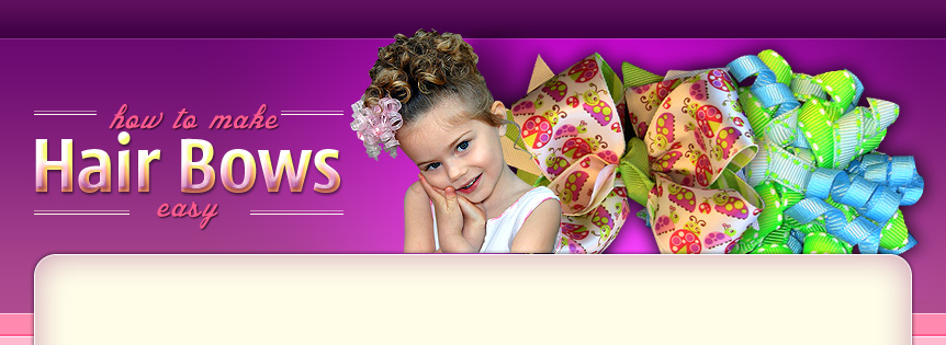 free hair bow instructions with pictures